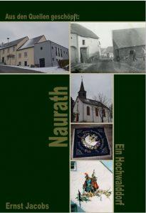 Deckseite des Heimatbuches Naurath/Wald-Ortschronik-Hochwald-Hermeskeil