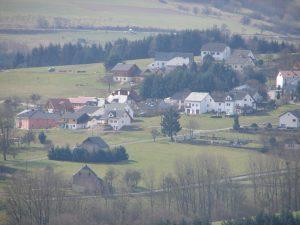 Schöne Sicht auf das Neubaugebiet von Naurath/Wald-Hochwald-Nationalparkregion