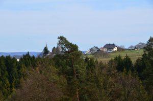 Blick auf Naurath/Wald-Hochwald-Nationalparkregion
