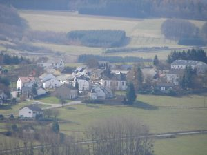 Schöne Sicht auf das Oberdorf von Naurath/Wald-Hochwald-Nationalparkregion