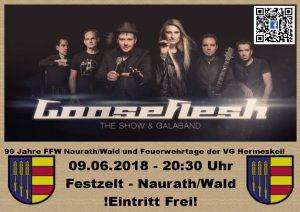 90 Jahre Feuerwehr Naurath/Wald- Fest - Gooseflesh