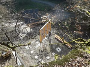Naurath-Wald Hochwald Nationalparkregion Traumschleife 5-Täler Tour Schutzhütte
